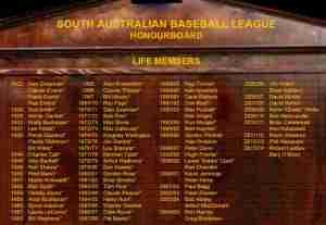 The SABL Life Members List.